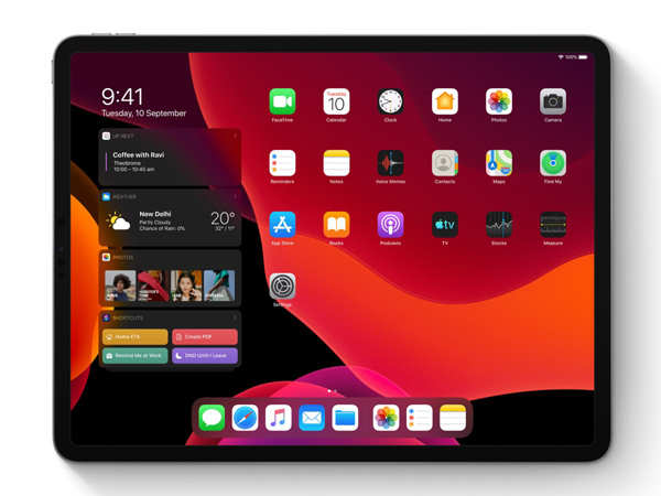 the new OS aims to bring Apple tablets closer to laptops in terms of productivity.