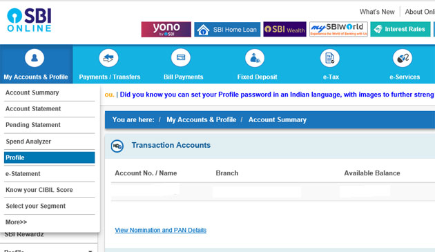 How to link your PAN with your SBI bank account - The Economic Times