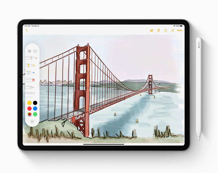 The new entry-level iPad supports all the apps that the expensive iPads come with on board.