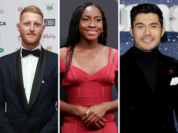 ​Ben Stokes, Coco Gauf​, and actor Henry Golding also feature on the list.​