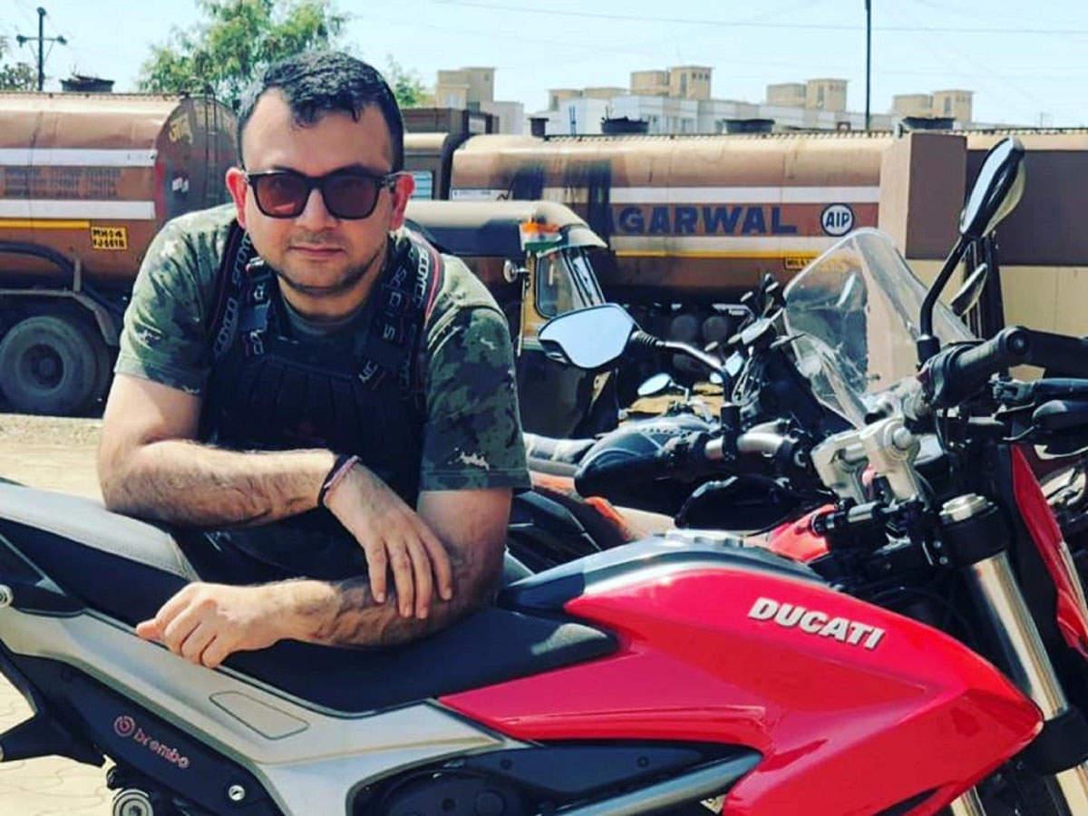 Amit Sachdeva has ridden a Suzuki Shogun 110CC 14 Bhp, an Enfield Machismo bullet, a Harley Davidson Street Bob and Ducati Hyperstrada 821.