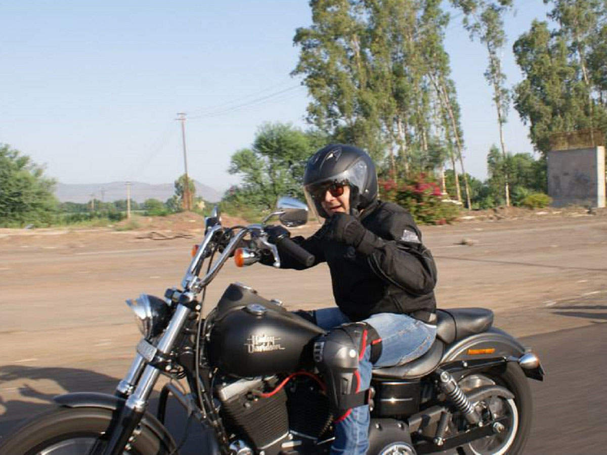 The Harley Davidson stands out most-vividly in Amit Sachdeva's memory.