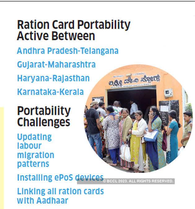 one nation one ration card: One nation, one ration card
