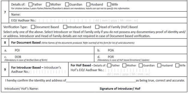 Aadhar Gazetted Form Pdf - Fill Online, Printable, Fillable, Blank ...