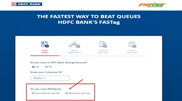 HDFC Fastag recharge: How to buy FASTag, recharge it online and offline  from HDFC Bank