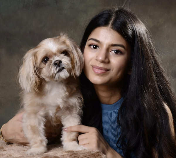 ​Ujvala Vemparala's five-year-old Lhasa Apso, Rani, has travelled with her to the US, Canada, Dubai, Bahrain, and now​ India.