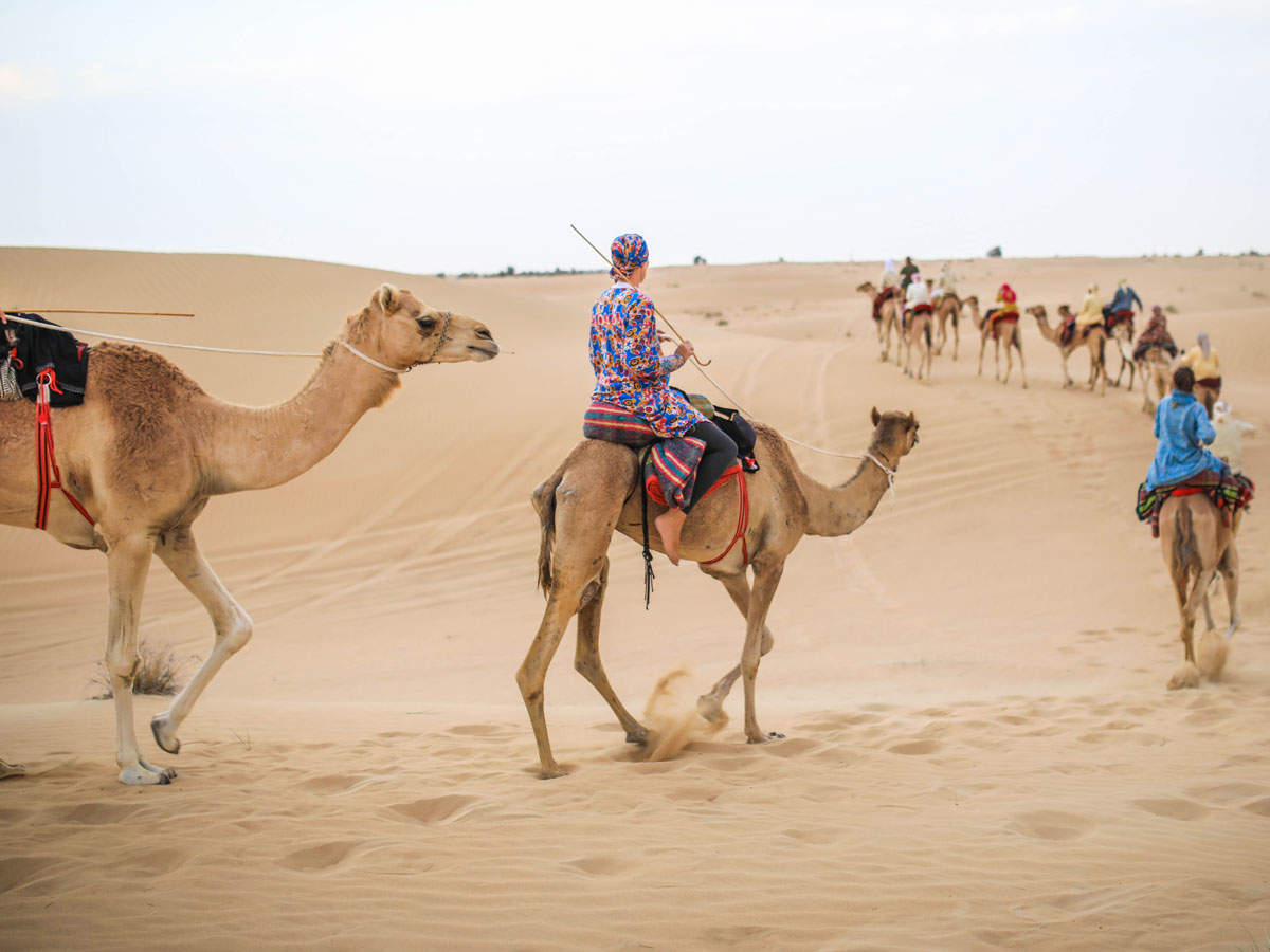 Experience authentic Emirati culture with Dubai's industrial area oldest inhabitants – the Bedouins at Al Marmoom.