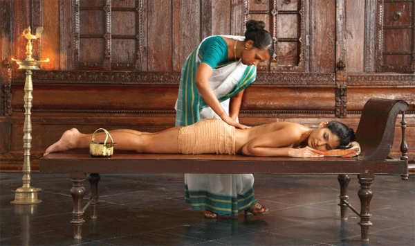 Massaging the problem areas with medicated Ayurvedic oils and potions are perfect to add a glow. Add a detox diet and make a new start in life.