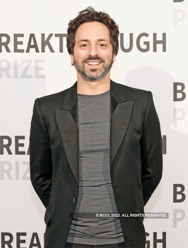 ​Sergey Brin is at the 11th spot​ on the list.