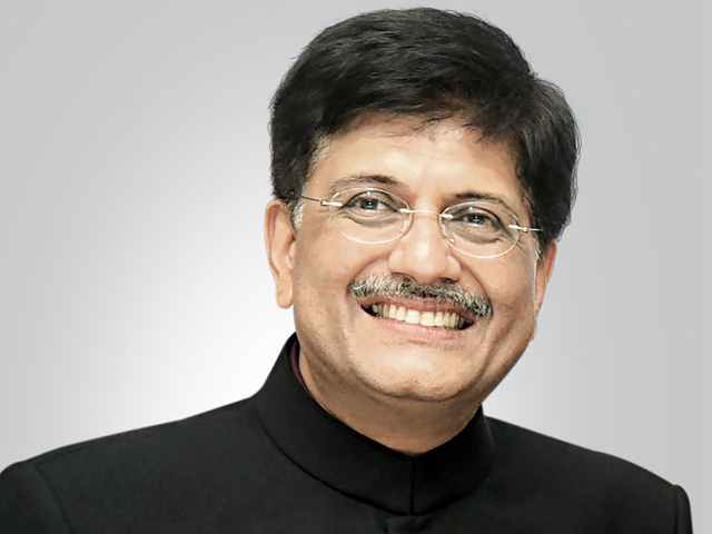 Piyush Goyal - Union Minister of Railways and Commerce & Industry