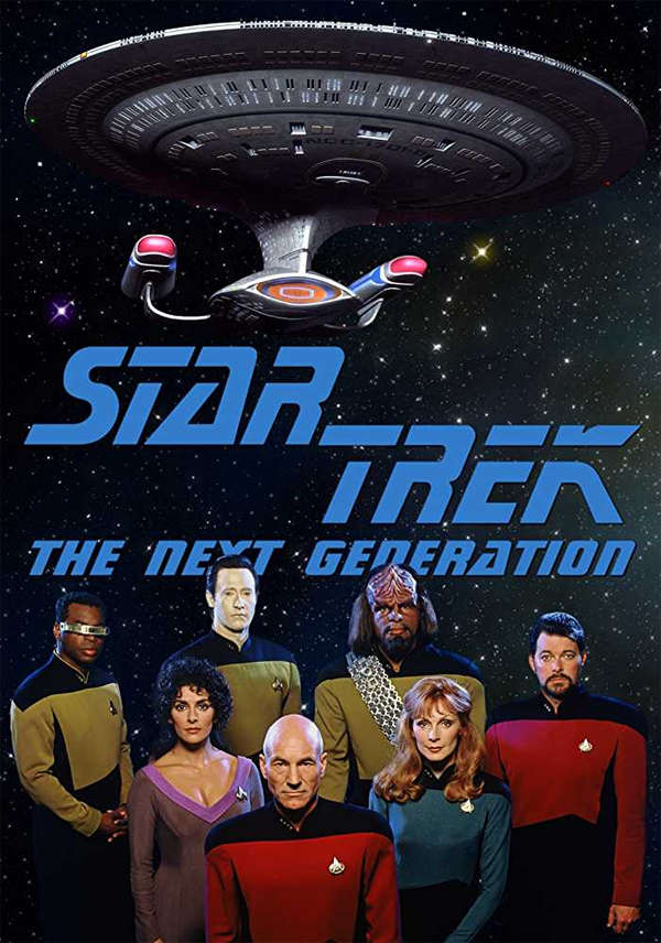 ​'Star Trek: The Next Generation' introduced Patrick Stewart's Captain Picard.​
