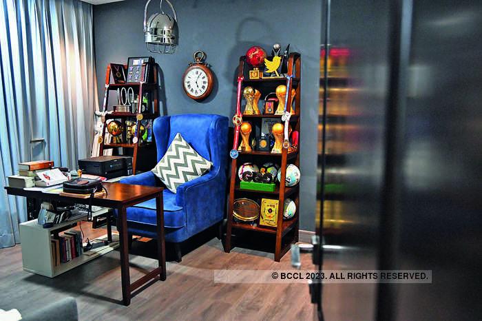 Sunil Chhetri has a couple of shelves for his trophies.