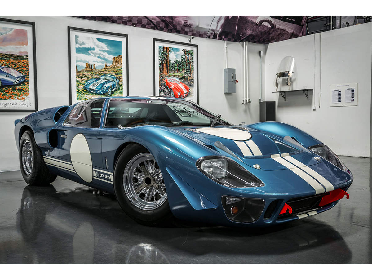 Even better, values of the 1964-69 Ford GT40s have risen, on average, 77% over the past five years, according to Hagerty's Klinger.