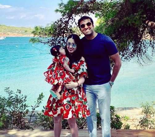 Parth Jindal and his wife Anushree Jindal celebrated the joy of parenthood for the first time this year as the couple welcomed their first baby girl and named her Ayana.