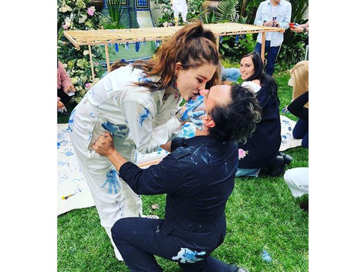 Johnny Galecki and his model girlfriend Alaina Meyer announced in May this year that they are expecting their first child together.