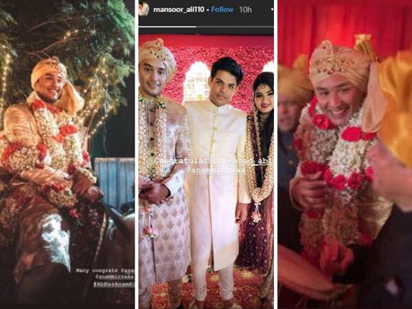 Screenshots of Asad's Instagram Stories.