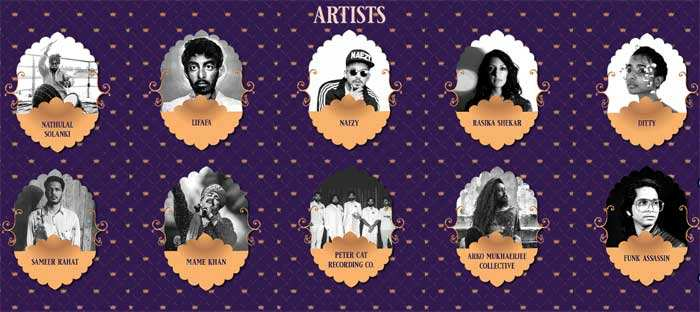Top performers who will set the stage ablaze at the 2019 Ranthambhore Music and Wildlife Festival.