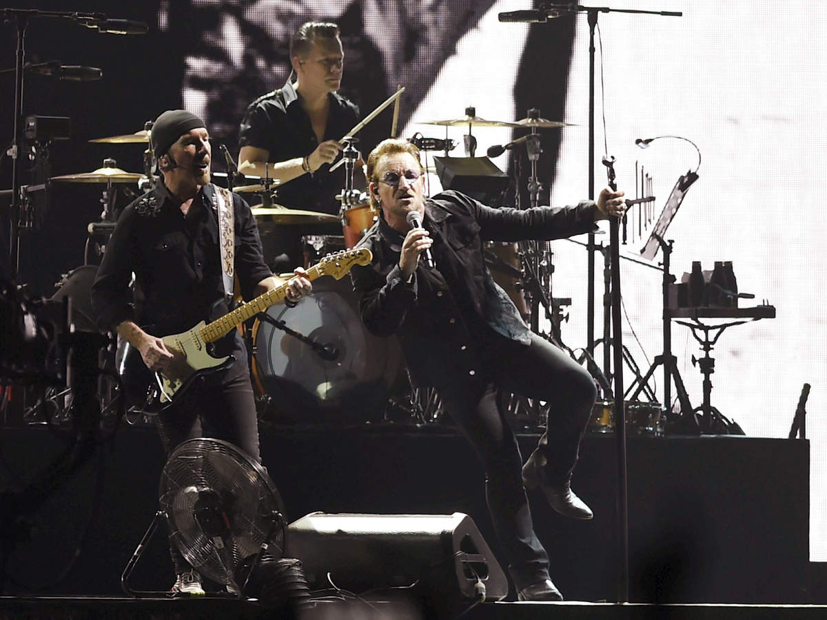 """Bono, in his greeting to the audience which began with """"namaste Mumbai!"""", acknowledged that it took them a while to visit the country."""