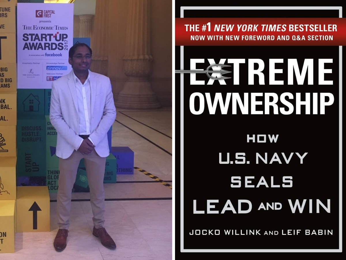 'Extreme Ownership: How U.S. Navy SEALs Lead and Win' is Satish Cannon's favourite book.
