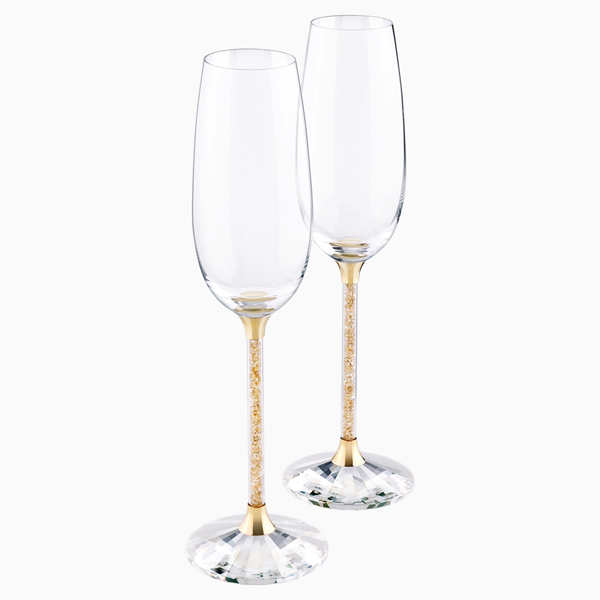Crystalline Toasting Flutes (Set of 2) at Rs 24,900.