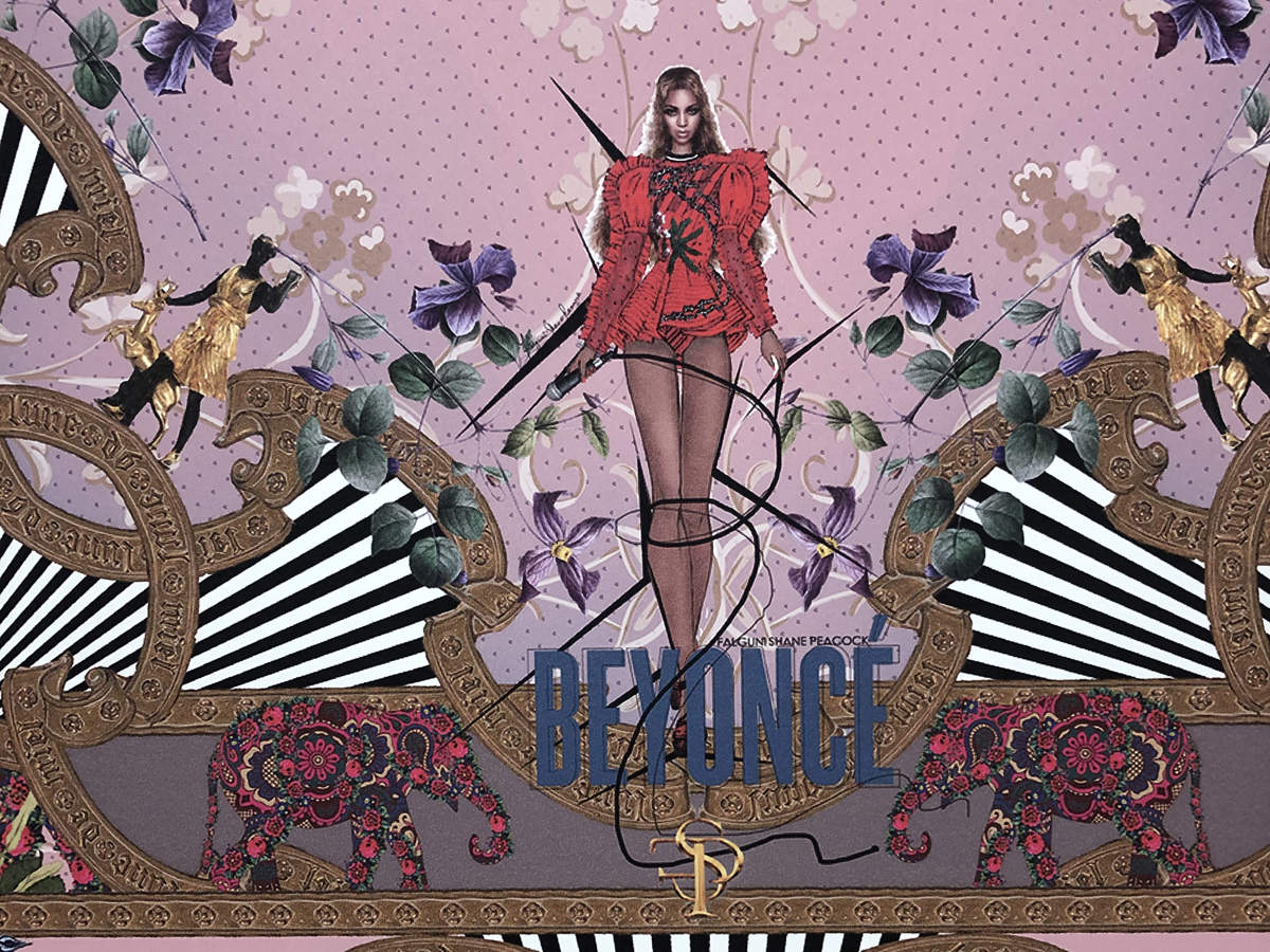 Visitors to the flagship store can spot the dress, along with other iconic looks from the diva, on the special Beyoncé-inspired wall on the second-storey.