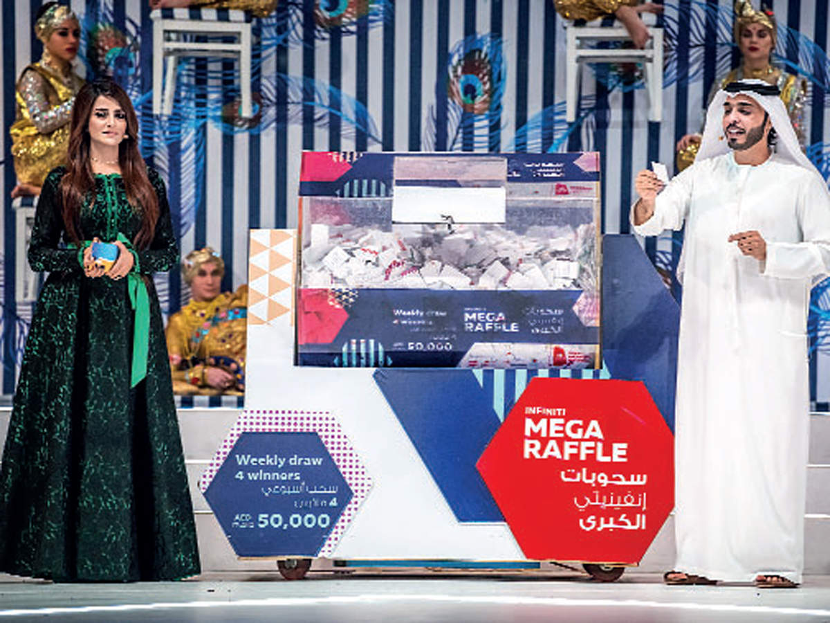 Win a lot at Global Village Raffle Draw.