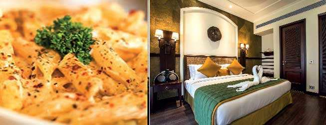 Try the delectable food on offer and the plush interiors spell comfort