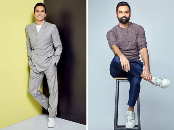 Dongre feels Rahul Khanna (l) and Abhay Deol are always well turned out.