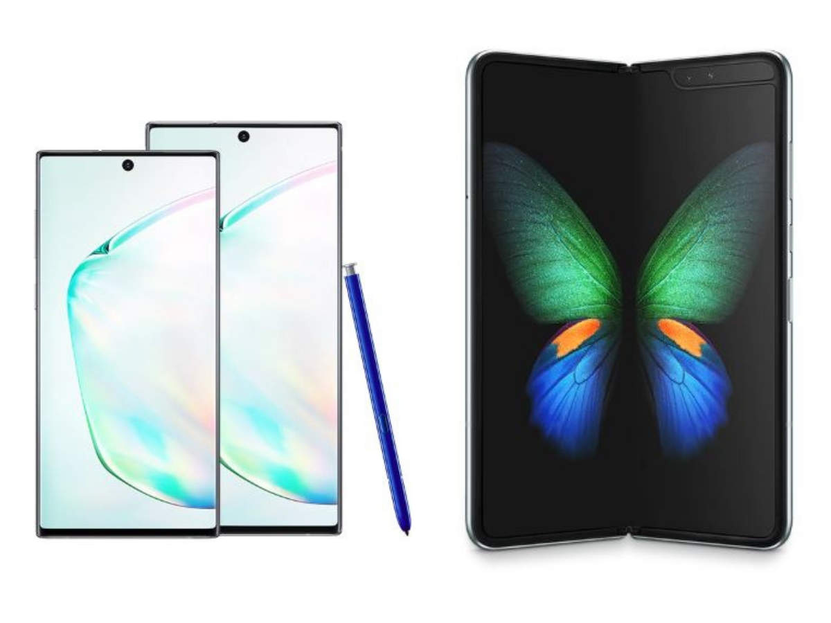 ​Samsung Galaxy Note 10, 10 Plus, and Galaxy Fold