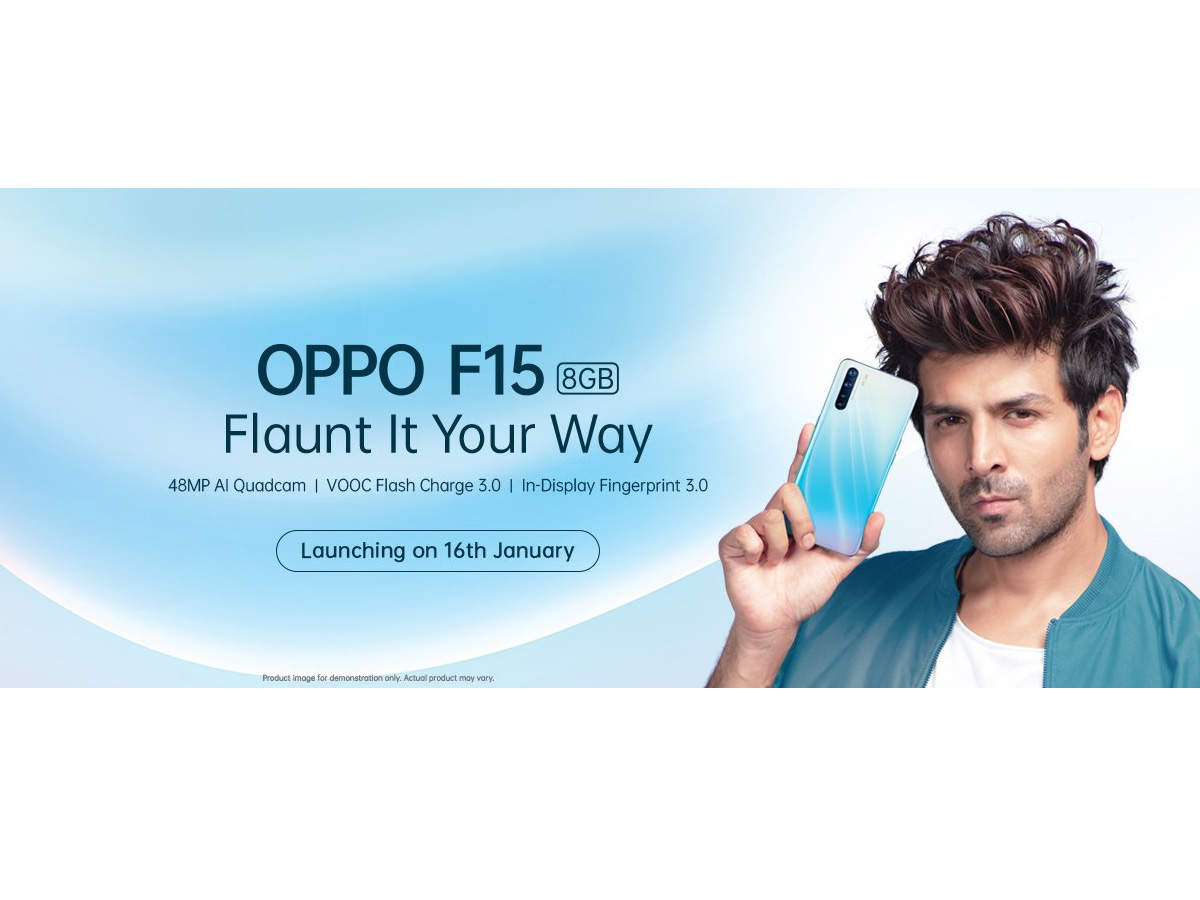 The new OPPO F15 is packing high-end features.