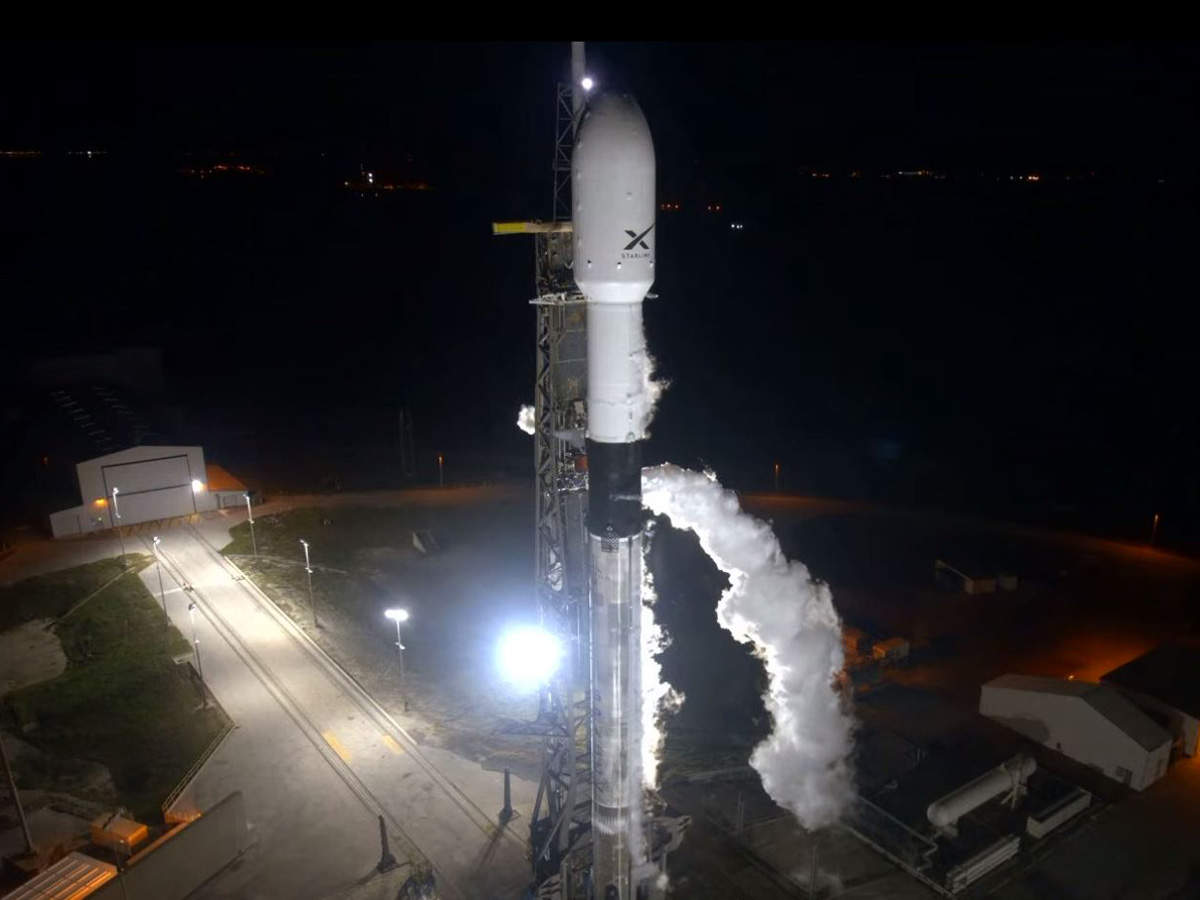 ​The launch was broadcast live by Elon Musk​'s SpaceX.