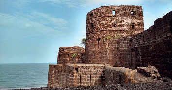 Vijaydurg Fort. (Image: Rehansarang)