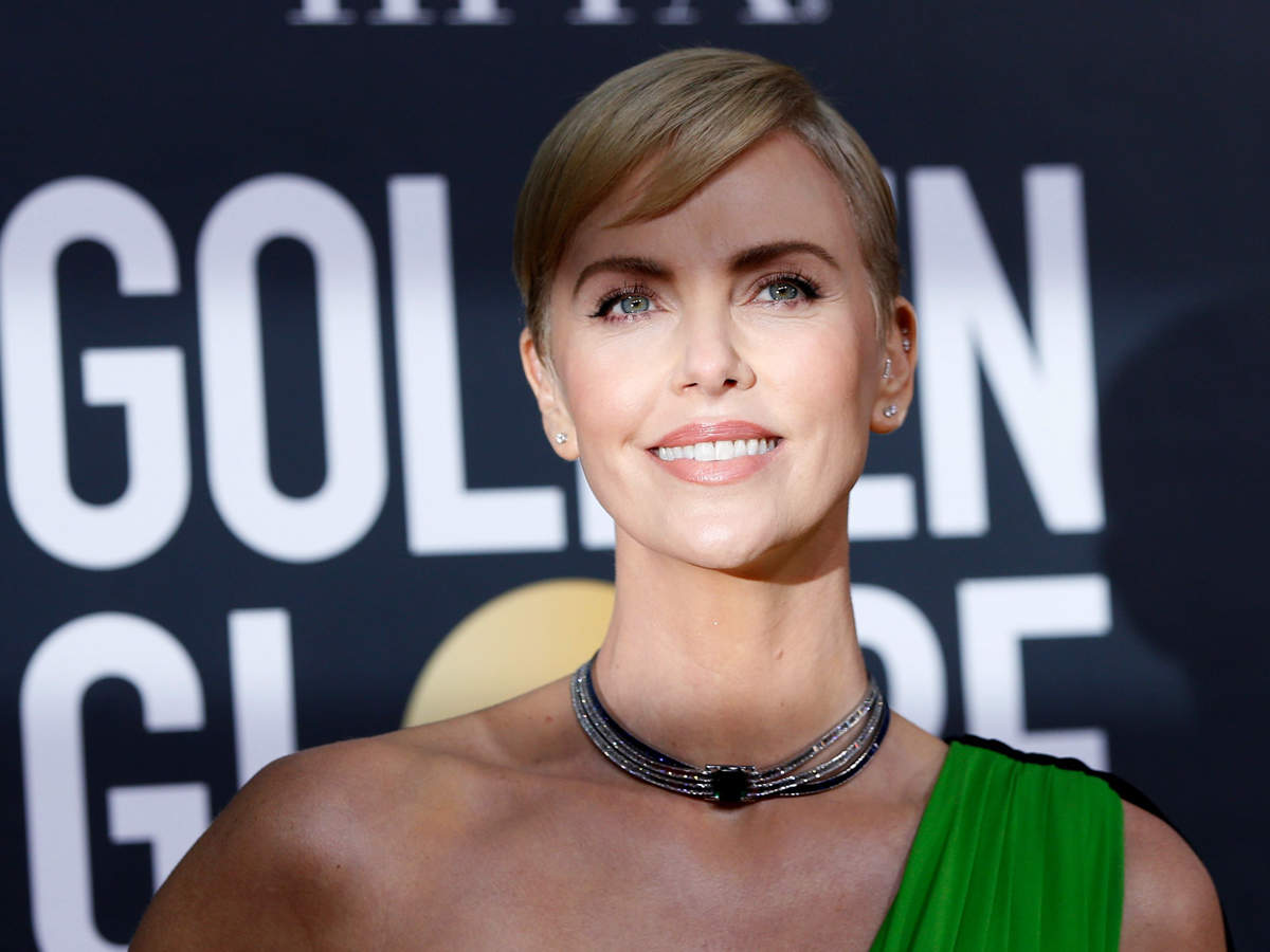 Theron was last seen walking the red carpet at the Golden Globe awards.