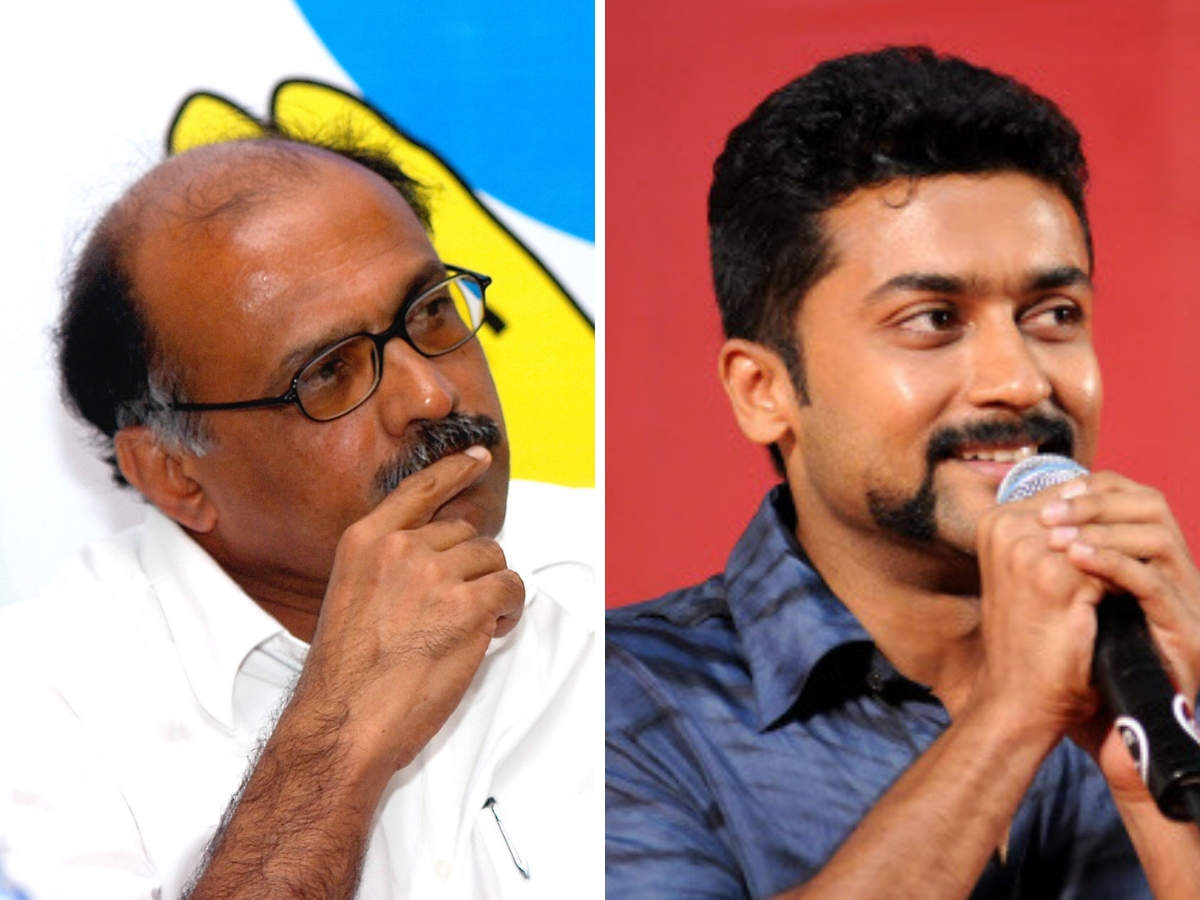 Suriya (right), we hear, will play Gopinath (left) as a Robin Hood-style entrepreneur – fighting evil businessmen, politicians who sought to thwart him in his quest to launch a low-cost airline.