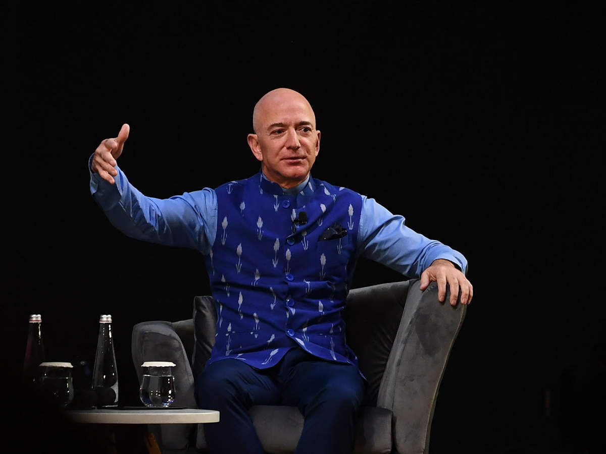 Bezos predicted that one of the most important alliances in the world is going to be between the US and India - the world's oldest democracy and the world's largest democracy.