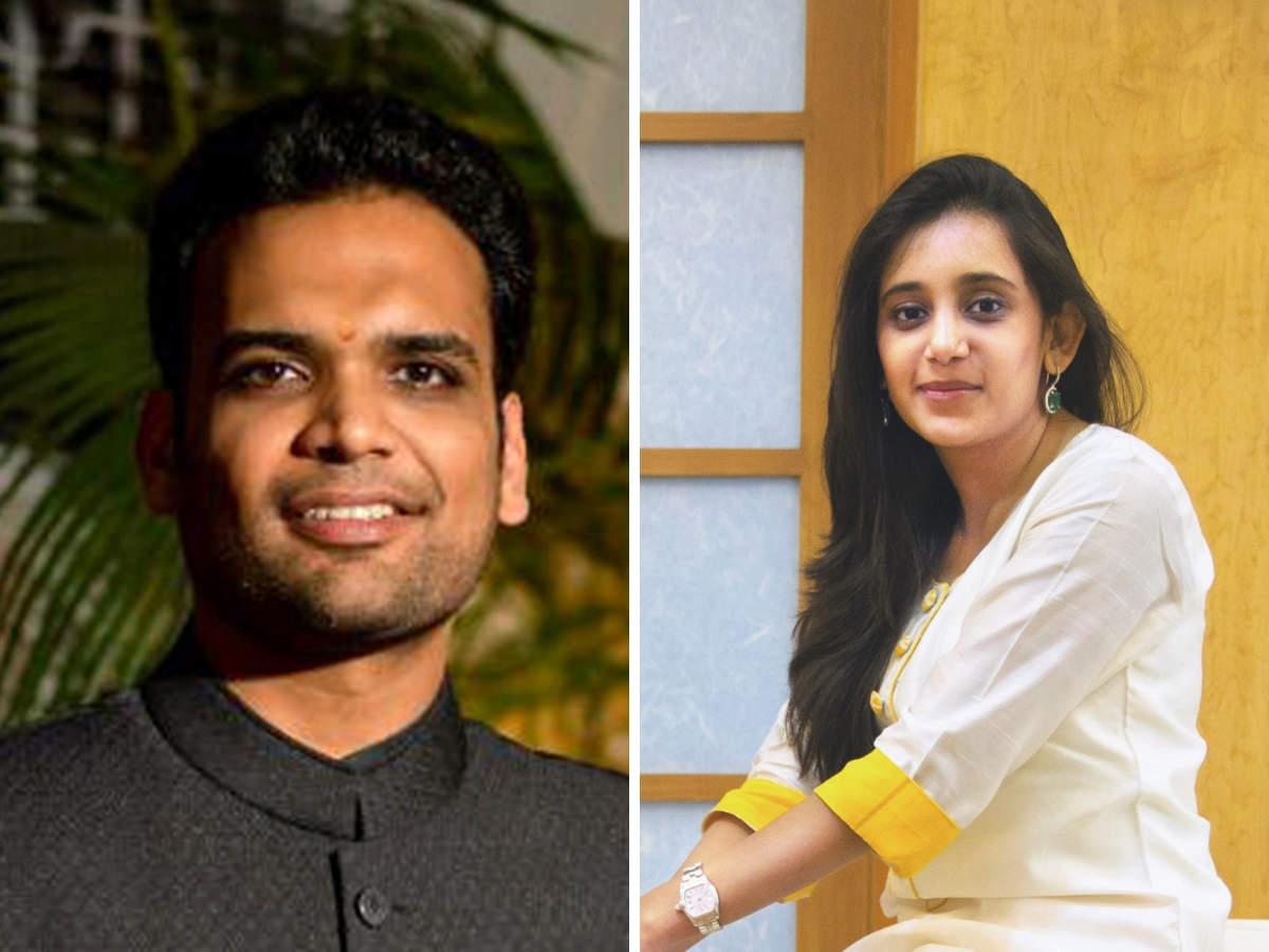 Avni Biyani (R) and Advay Jhunjhunwala have deliberately kept things discreet.
