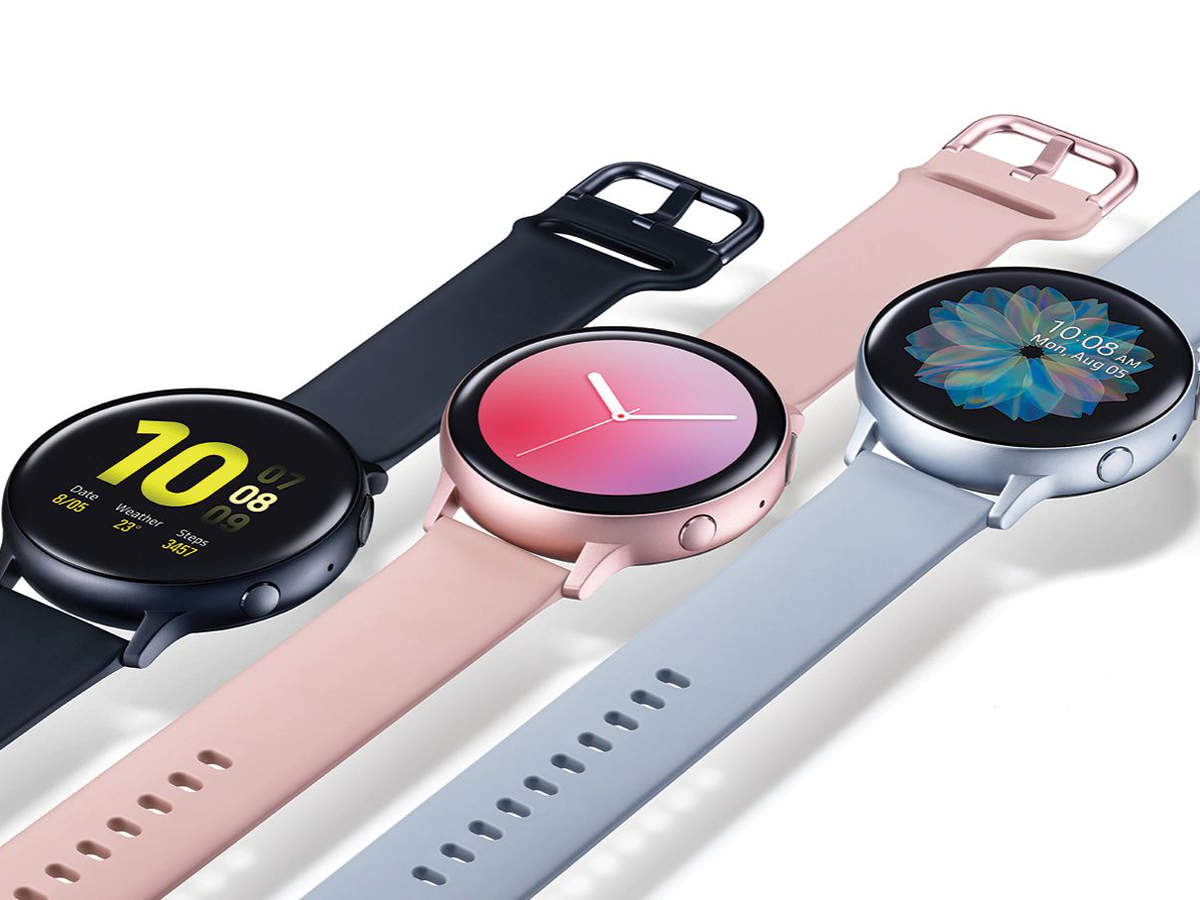 The device also comes equipped with a heart sensor and also offers an ECG feature like Apple Watch 4 and 5.