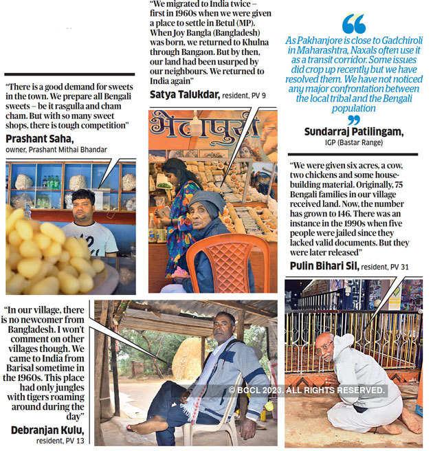 7 Bengali refugees dominate biz, farms in Chhattisgarh