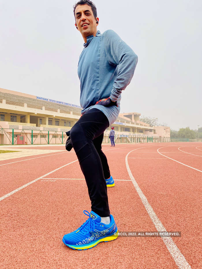 ​Running is more than health benefits for Rajat Khurana​. ​
