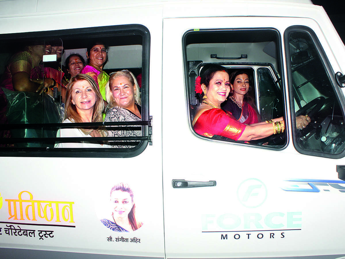 The new pick-up and drop service, launched by Sangeeta Ahir, will make commuting easier for women working late in the night. It was inaugurated last week, on the occasion of Makar Sankranti.