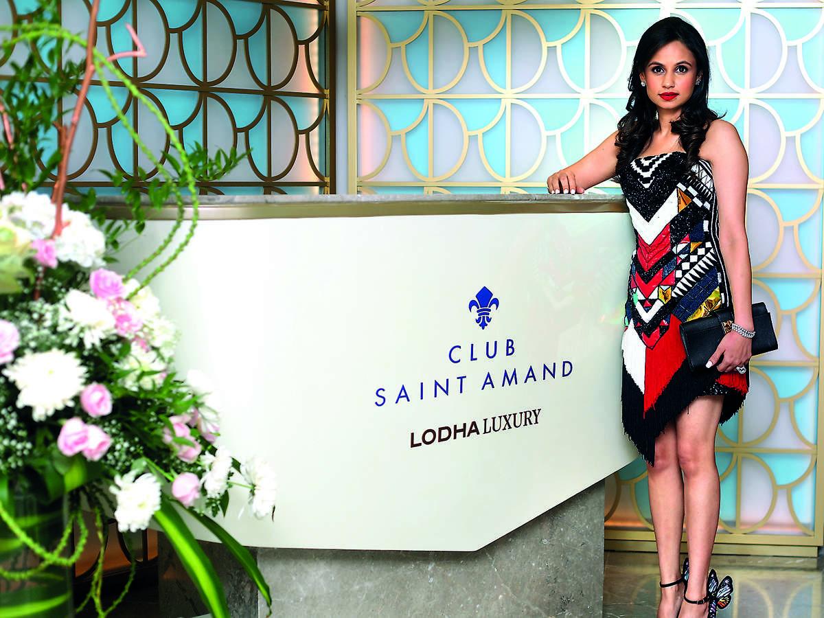 Vinti Lodha, advisor, Lodha Luxury, at Club Saint Amand