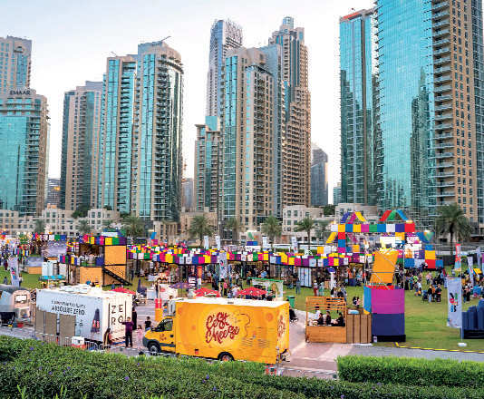 Showcasing the best from emerging local and international designers, Swyp Market OTB at Burj Park, Downtown Dubai is a shopping experience that goes beyond the traditional walls of a mall.