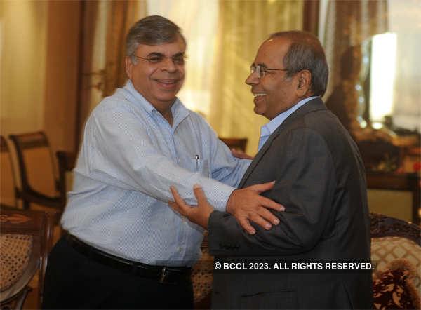 2010 File photo: Brothers Gopichand and Ashok Hinduja in Mumbai.