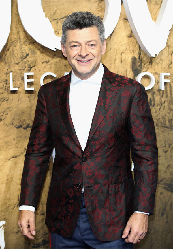 Director Andy Serkis at the 'Mowgli: Legend Of The Jungle' Netflix special screening at the Curzon Mayfair in December 2018 in London, England.