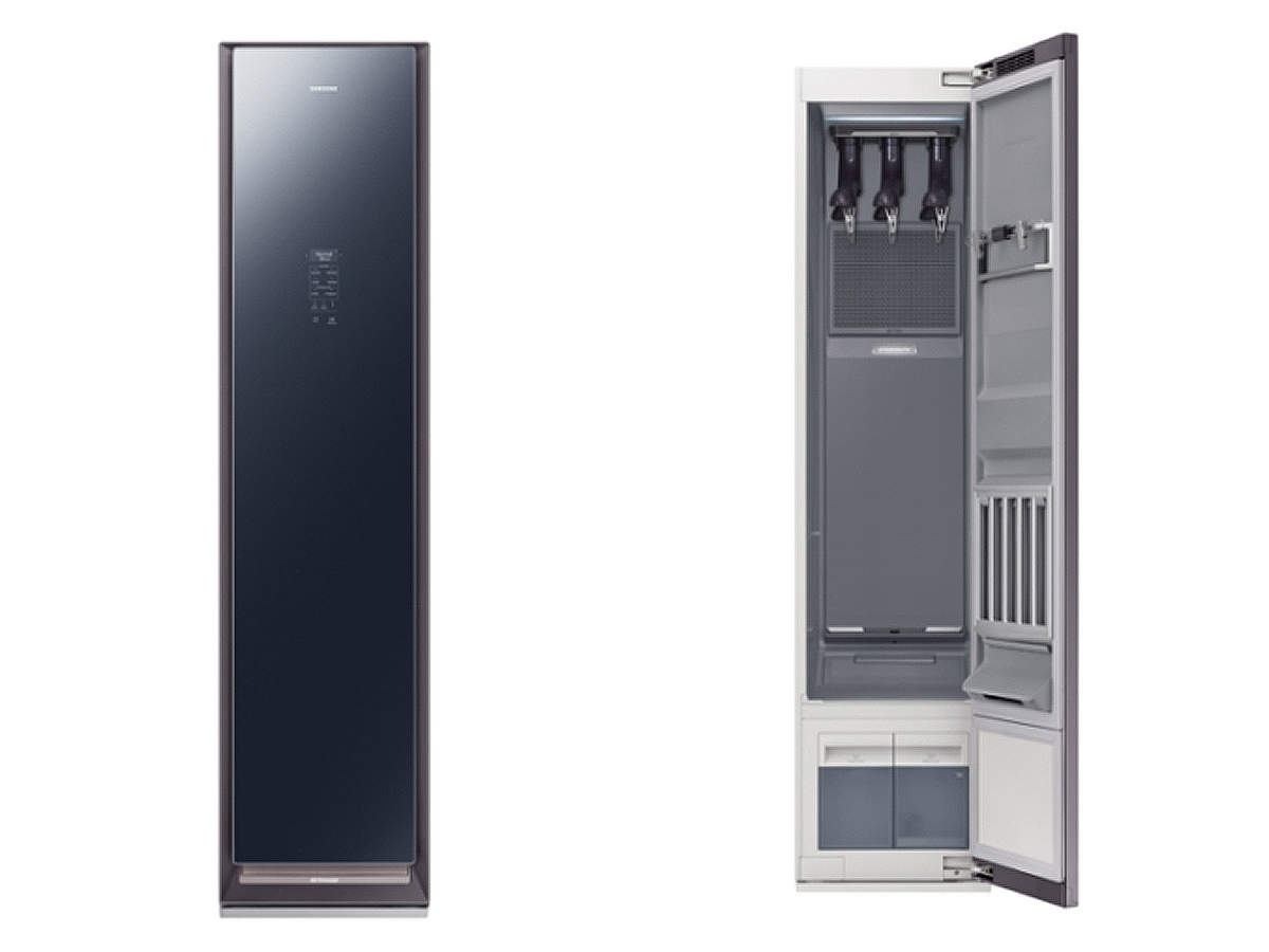 Samsung recently announced that it will launch a smart closet called the AirDresser in April for USD 1,400. 