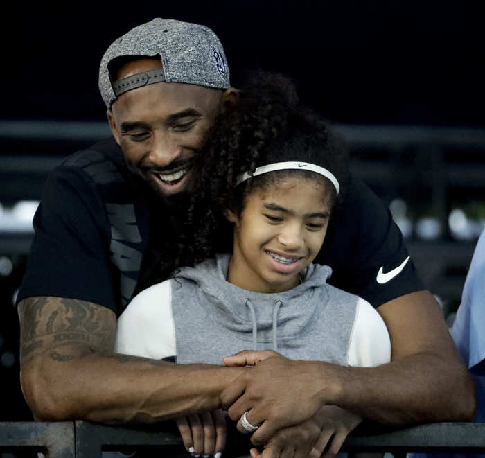 Kobe Bryant and his daughter were killed when a helicopter they were travelling in crashed amid foggy conditions and burst into flames in the hills above Calabasas.
