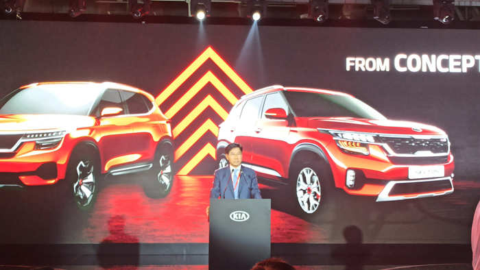 The design is inspired by an elephant, said Karim Habib, senior VP of design at Kia Motor.