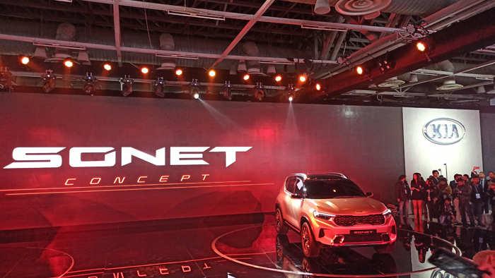 Kia Sonet will rival the likes of Maruti Suzuki Vitara Brezza and Hyundai Venue.