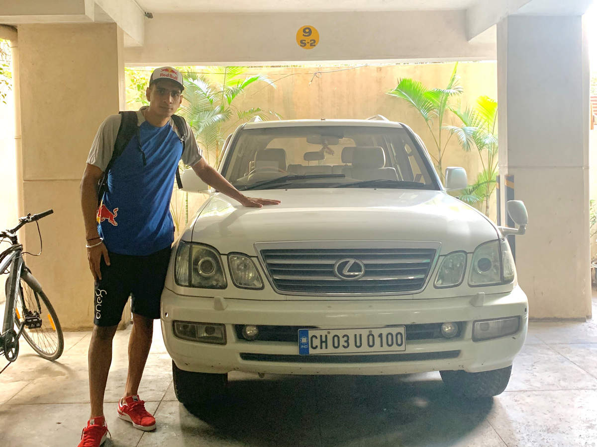 """""""My favourite road trip was a Bengaluru to Mumbai ride I took with my friends, and one from Kolkata to Chandigarh a few years ago"""", says Sandhu."""