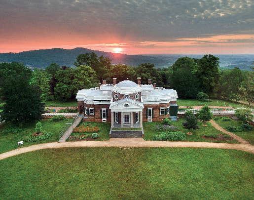 Monticello,Charlottesville,Virginia